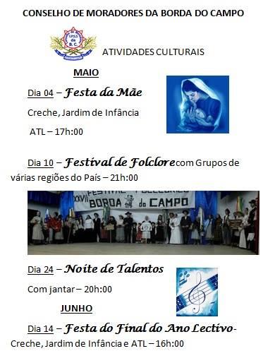 Festas 2014 no Concelho de Moradores da Borda do Campo