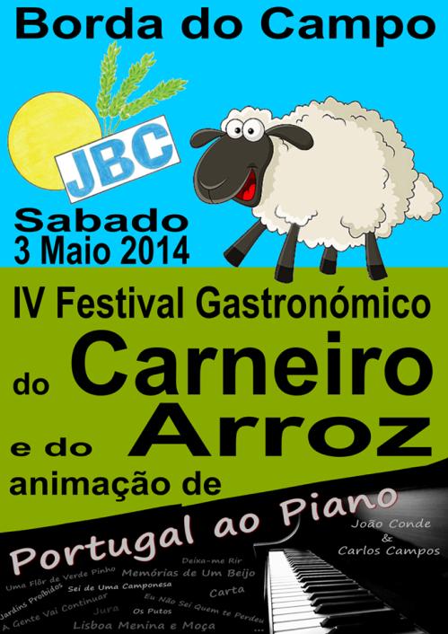 IV Festival do Carneiro e do Arroz 03052014