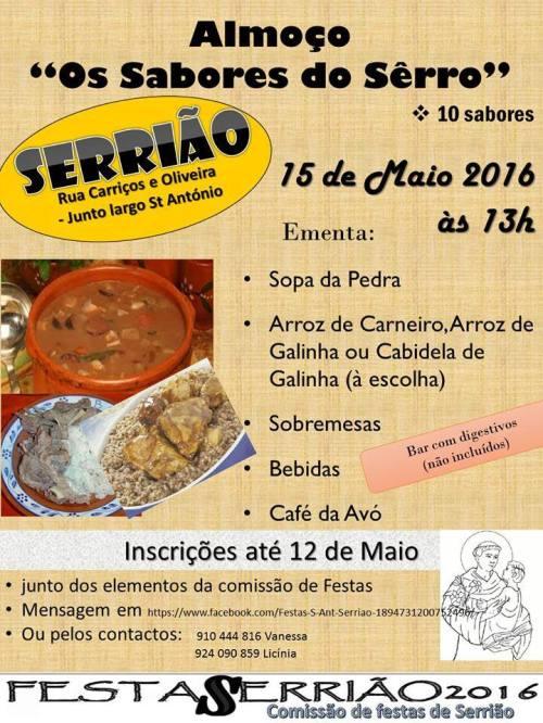 Almoco_Os_Sabores_do_Serro_Serriao_13h_15_Maio_2016