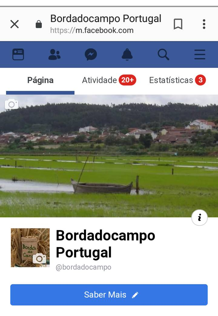Pagina Facebook Bordadocampo Portugal